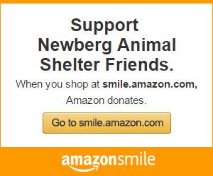 Amazon Smile for Newberg Animal Shelter
